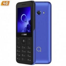 Smartphone móvil  ALCATEL 3088 METALLIC BLUE   2.4'   DC   512MB RAM   4GB   CAM 2MPX   4G   BAT 1530MAH