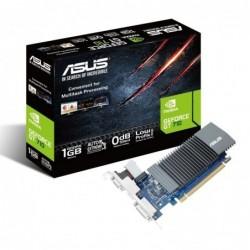 TARJETA GRÁFICA ASUS GEFORCE GT 7 0 SILENT  OPENGL 4.5   1GB GDDR5  DVI D   HDMI   VGA PASIVA