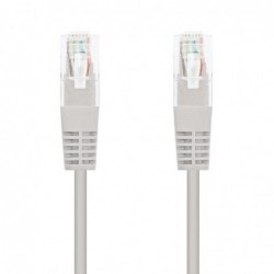 LATIGUILLO DE RED NANOCABLE 10.20.0100   RJ45   UTP   CAT5E   0.5M   GRIS