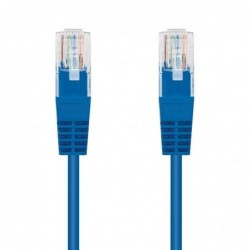 LATIGUILLO DE RED NANOCABLE 10.20.0100 BL   RJ45   UTP   CAT5E   0.5M   AZUL