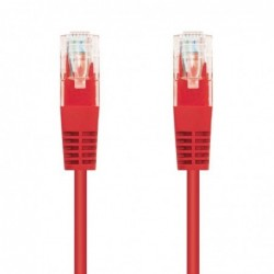 LATIGUILLO DE RED NANOCABLE 10.20.0102 R   RJ45   UTP   CAT5E   2M   ROJO