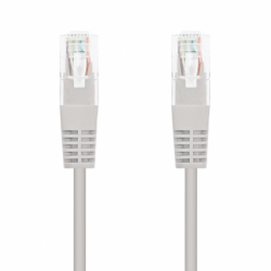 LATIGUILLO DE RED NANOCABLE 10.20.0103   RJ45   UTP   CAT5   3M   GRIS