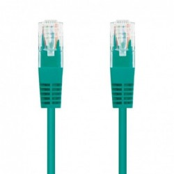 LATIGUILLO DE RED NANOCABLE 10.20.0400 GR   RJ45   UTP   CAT6   0.5M   VERDE