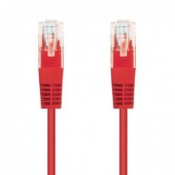 LATIGUILLO DE RED NANOCABLE 10.20.0401 R   RJ45   UTP   CAT6   1M   ROJO