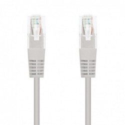 LATIGUILLO DE RED NANOCABLE 10.20.1300   RJ45   UTP   CAT6   0.5M   GRIS