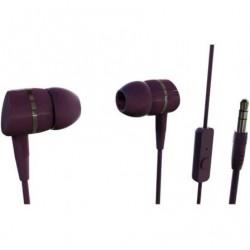 Auriculares Intrauditivos Vivanco 38012  Jack 3.5  Rojos