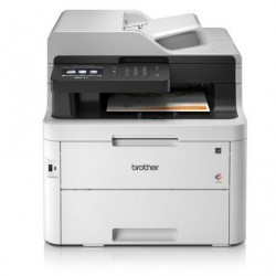 Multifunción láser color brother mfc-l3750cdw wifi fax duplex branco