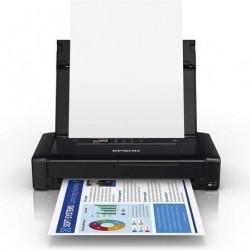 Impresora portatil epson workforcew wf-110 wifi negra