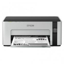 Impresora recargable epson ecotank et-m1120 wifi blanca
