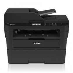 Laser multifuncional monocromático irmão mfc-l2730dw wi-fi fax preto