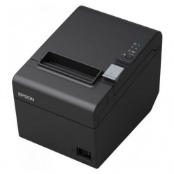 Impresora de tickets epson tm-t20iii termica ancho papel 80mm ethernet negra