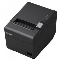 Impresora de tickets epson tm-t20iii termica ancho papel 80mm usb-rs232 negra