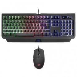 Pack gaming mars gaming mcp100 teclado mecanico + raton optico