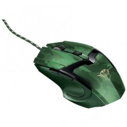 Rato gaming trust gaming gxt 101d hasta 4800dpi camuflaje jungla