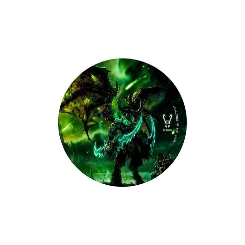 Comprar Tapete gaming woxter stinger floorpad verde