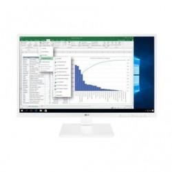 Monitor profesional lg 27bk550y-w 27' full hd multimedia blanco
