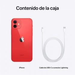 Smartphone apple iphone 12 128gb 6.1' 5g vermelho