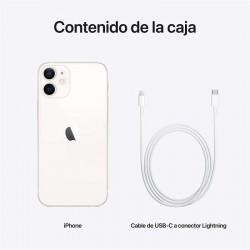 Smartphone apple iphone 12 mini 128gb 5.4' 5g branco
