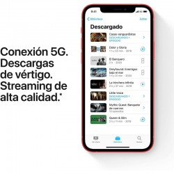 Smartphone apple iphone 12 mini 128gb 5.4' 5g vermelho online