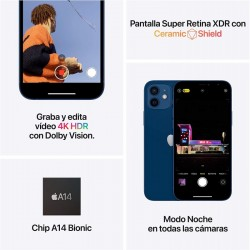 Smartphone apple iphone 12 mini 128gb 5.4' 5g vermelho