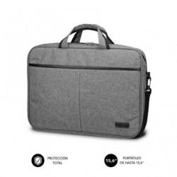 Mala subblim elite laptop bag pra portatiles até 15.6' cinta pra trolley cinza
