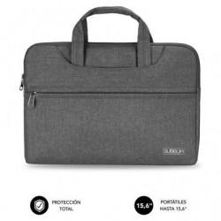 Mala subblim business laptop sleeve pra portatiles até 15.6' cinta pra trolley cinza