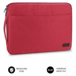 Funda subblim urban laptop sleeve pra portatiles até 15.6' vermelho