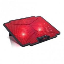 Médio refrigerante spirit of gamer airblade 100 vermelho pra portatiles até 15.6' ilumina‡Æo led