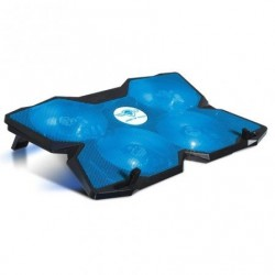 Médio refrigerante spirit of gamer airblade 500 blue pra portatiles até 17.3' ilumina‡Æo led