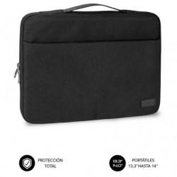 Mala subblim elegant laptop sleeve pra portatiles até 14' preto