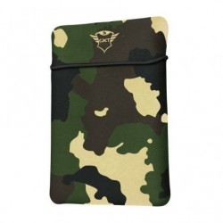Funda trust gaming gxt 1242c lido pra portatiles até 15.6' camuflar selva