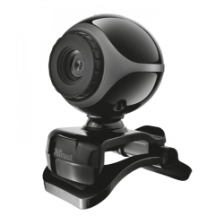 Trust Exis Webcam 0,3 MP 640 x 480 Pixeles USB 2.0 Preto