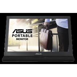 """ASUS MB169C+ 39,6 cm (15.6"""") 1920 x 1080 Pixeles Full HD LED Preto, Prata"""