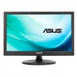 """ASUS VT168N point touch monitor monitor pantalla tactil 39,6 cm (15.6"""") 1366 x 768 Pixeles Preto Multi-touch"""
