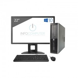 HP Elite 8300 SFF i5 – 3340 | 32 GB RAM | 240SSD | WIFI | LCD E221C - Webcam