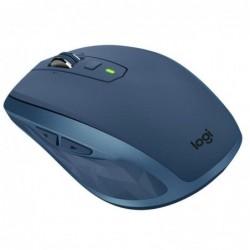 Rato bluetooth sem fio de 2,4 GHz logitech mx em qualquer lugar 2s at' 4000 dpi verde azulada