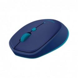 Rato bluetooth sem fio logitech laser m535 até 1000 dpi azul