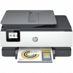 Multifuncion hp officejet pro 8022e wifi fax duplex branco