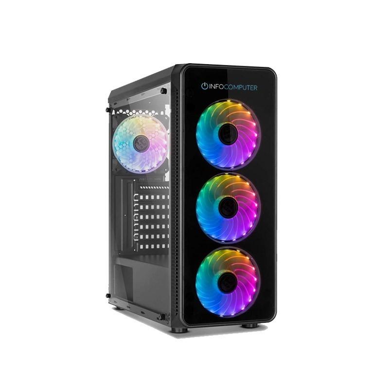 Comprar PC Intel i5-9600K 3.7 GHz  8 GB RAM DDR4  240 SSD + 1TB HDD  GTX 1050 4GB