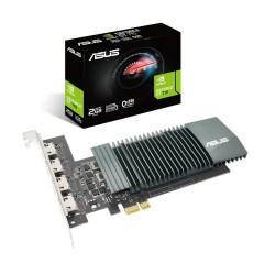 ASUS GEFORCE GT 710 4H SL OPENGL 4.6 2GB GDDR5 PCIE 2.0 4 * HDMI PLACA GRÁFICA