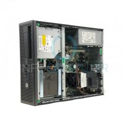 HP 800 G2 SFF I5 6500 3.2 GHz | 8 GB | 480 SSD | GRAFICA 2GB | WIFI | WIN 10 PRO | 2 X LCD 24 NOVO online