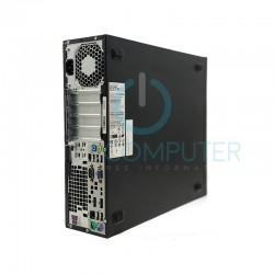 HP 800 G2 SFF I5 6500 3.2 GHz | 8 GB | 480 SSD | GRAFICA 2GB | WIFI | WIN 10 PRO | 2 X LCD 24 NOVO barato