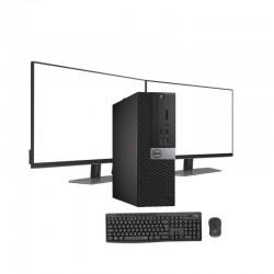 DELL 7040 SFF i5-6500 3.2 GHz | 8 GB | 480 SSD | GRAFICA 1GB | WIFI | WIN 10 PRO | LCD 24 NOVO