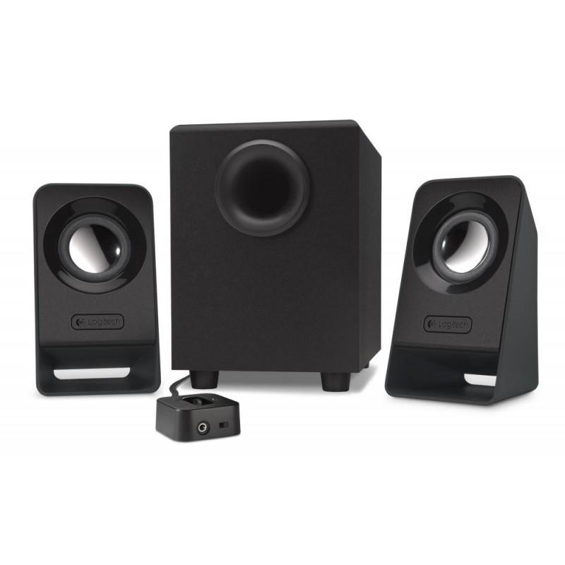 Colunas Som Logitech Z-213 Speaker System 2.1 14w