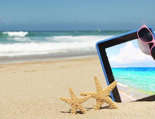 Levas o teu tablet de férias? Conselhos para cuidar e mantê-lo em perfeito estado